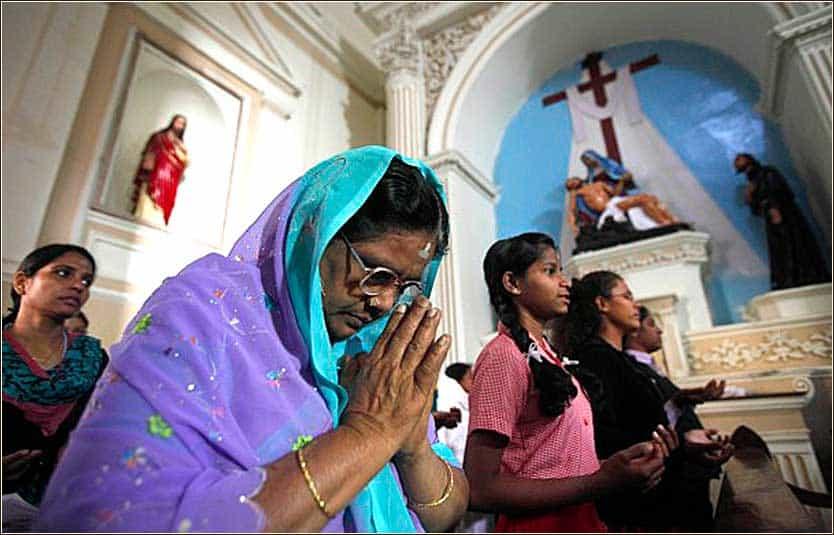 """Молитва """"Отче наш"""" на хинди заключение"""