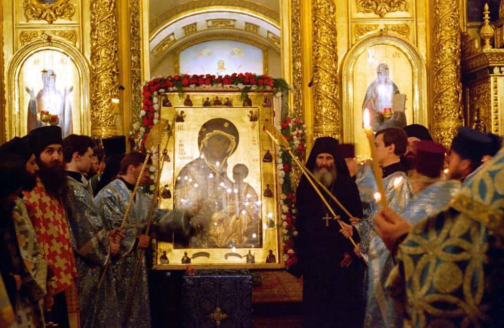 Молитвы Иверской иконе Божьей Матери - Пе́снь 1. Глас 8