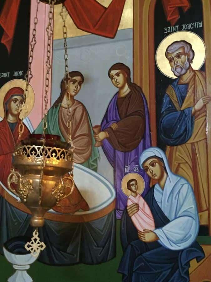 Величание Рождеству Пресвятой Богородицы