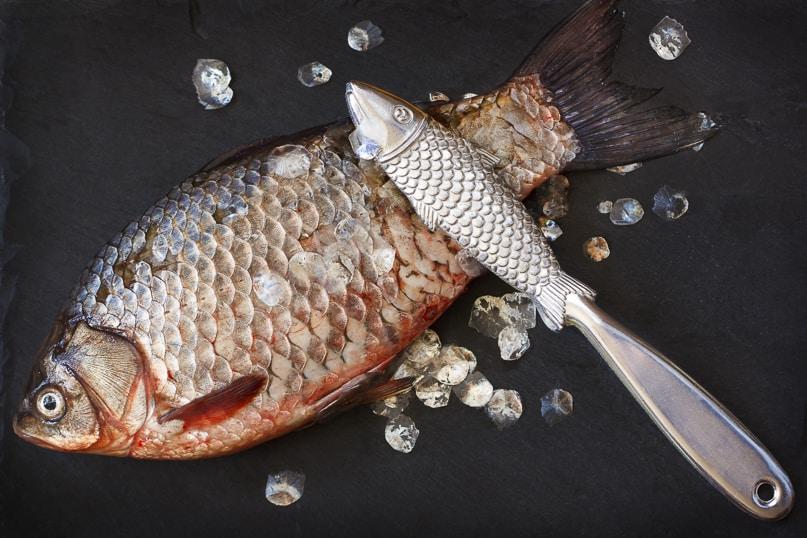 Гадание в Рождество по рыбной чешуе