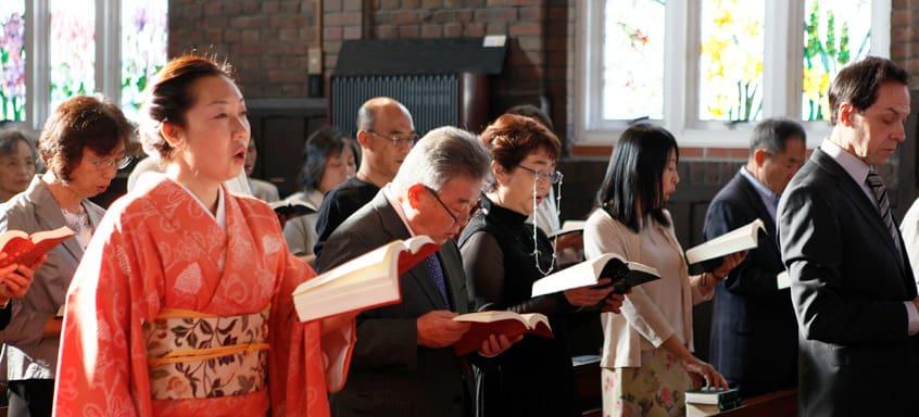 """Слушать онлайн молитву """"Отче наш"""" на японском бесплатно"""