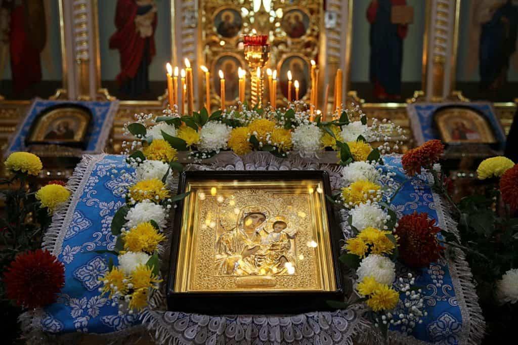 """Ограничения в Праздник Иконы """"Иверской"""" Божьей Матери"""