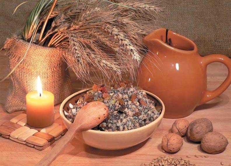 Традиционная христианская пища в пост