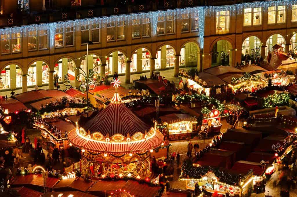 Празднование Рождества в Дрездене