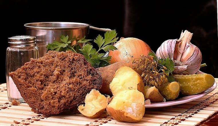 Традиционная пища в Великий пост