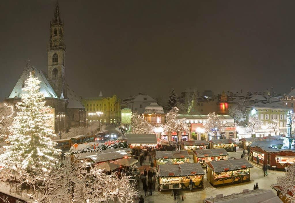 Рождественская ярмарка в Больцано