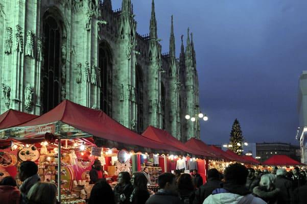 Празднование Рождества в Милане