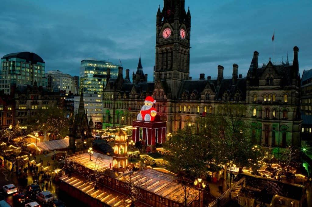 Рождественская ярмарка в Манчестере
