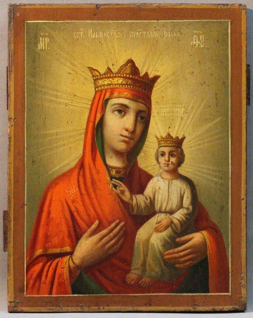 Читать онлайн молитву Ильинской Пресвятой Богородице от порчи и сглаза