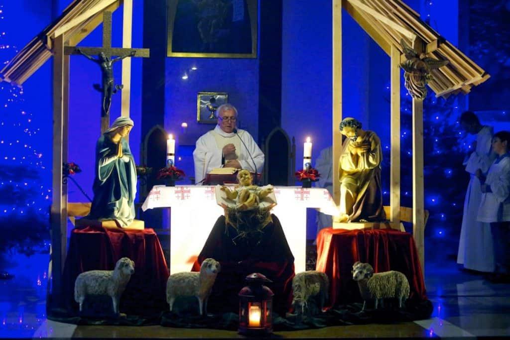 Празднование католического Рождества Христова