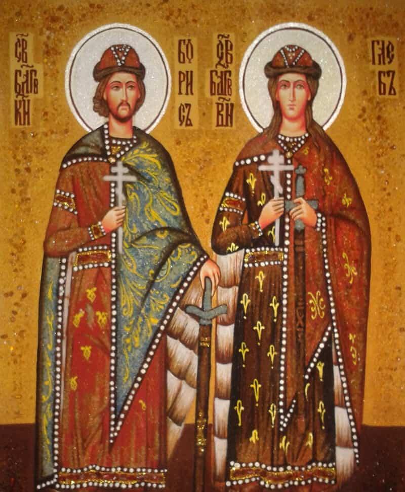 Читать онлайн молитву Борису и Глебу от врагов на работе