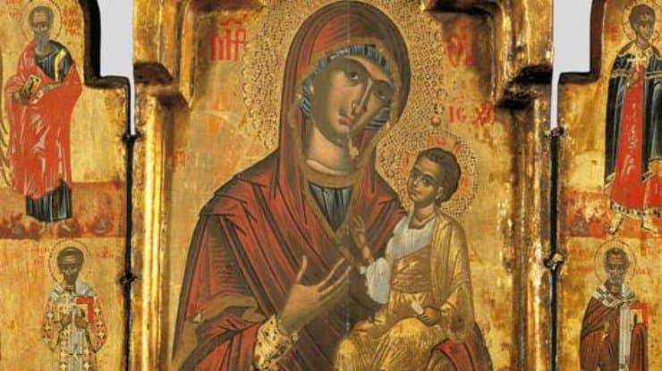 Как молиться «Иверской» Божьей Матери