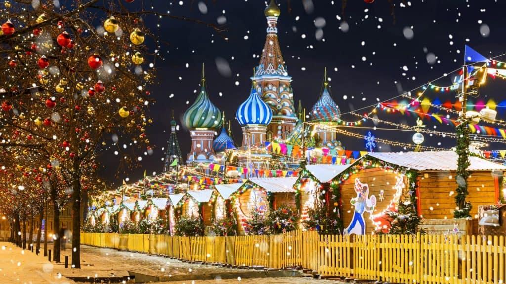 В России рождество отмечают 7 января