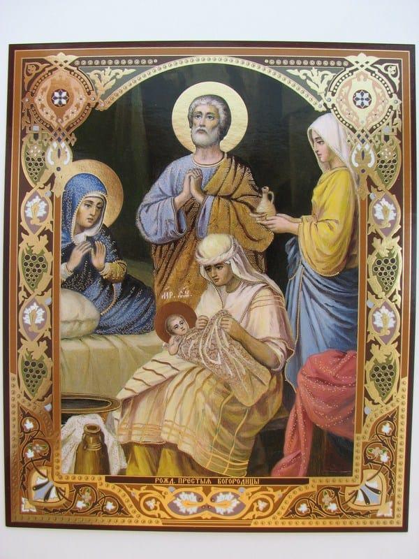 Икона Рождество Девы Марии