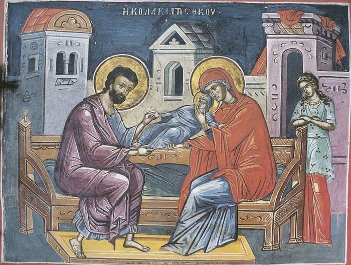 Икона Рождество Божьей Матери Марии