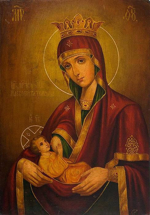 Икона Пресвятой Богородицы «Млекопитательница»