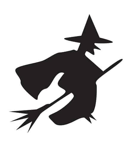 Шаблон для вырезания на Хеллоуин №4