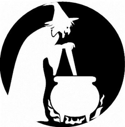 Шаблон для вырезания на Хеллоуин №5