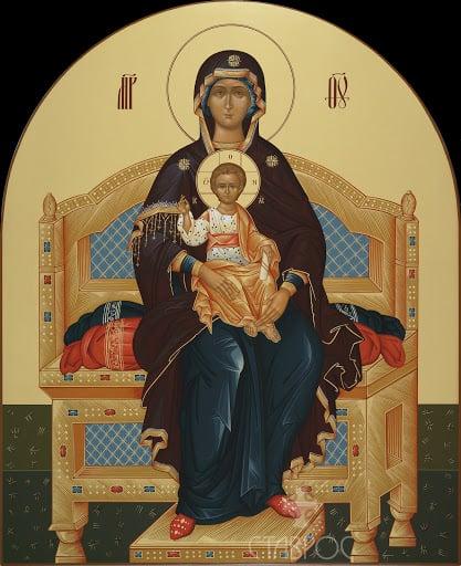 Читать онлайн молитву Богородице о помощи в работе