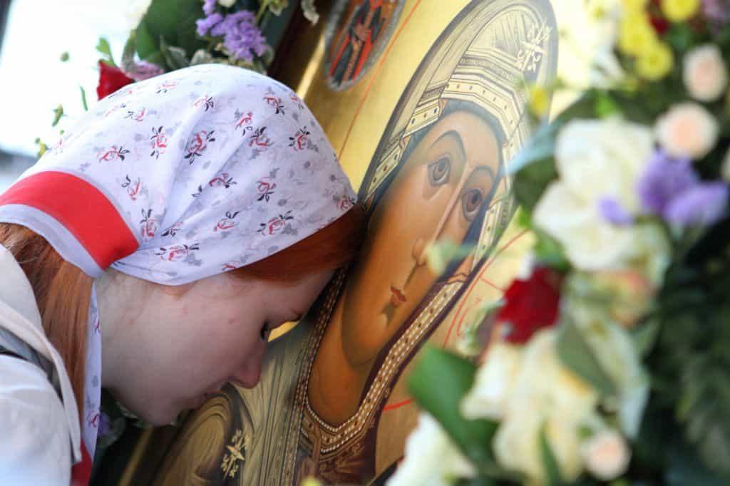 Молитва Казанской Божьей Матери Одигитрии