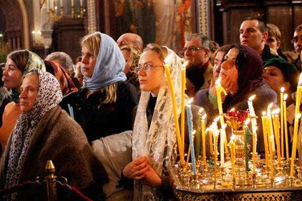 Канон Пресвятой Богородице перед иконой «Феодоровской»