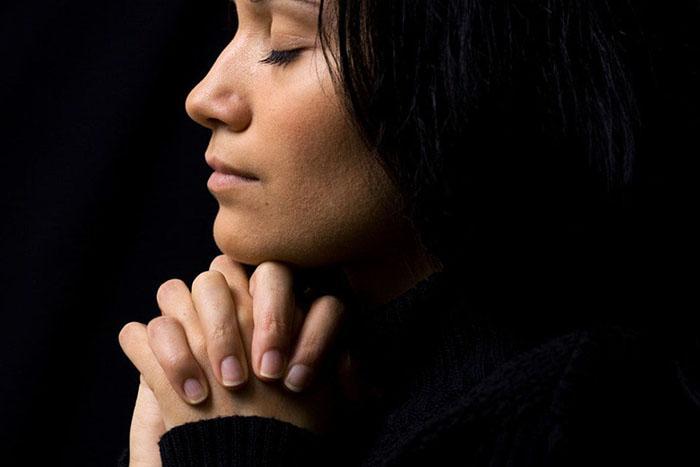 Молитвенный текст перед иконой Богородицы