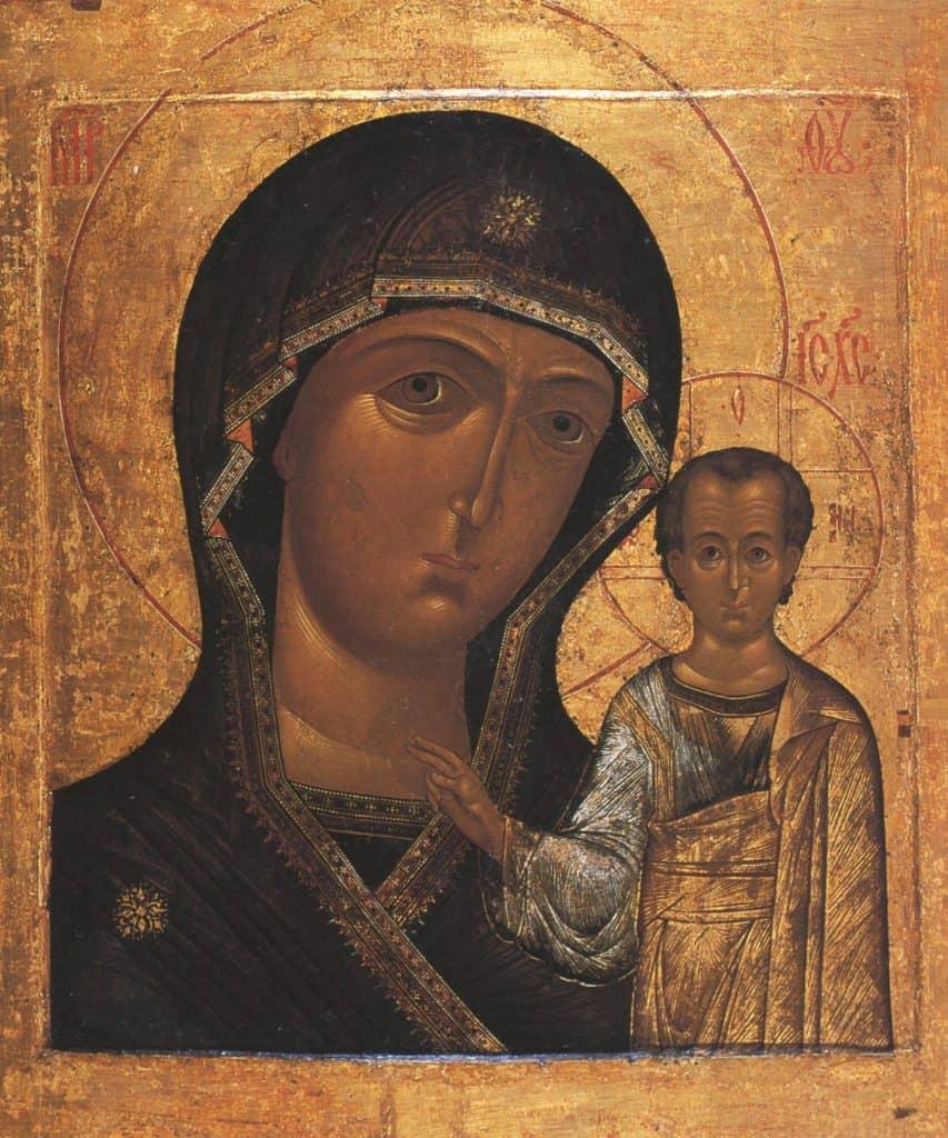 Как выглядит икона Богоматери «Казанской»