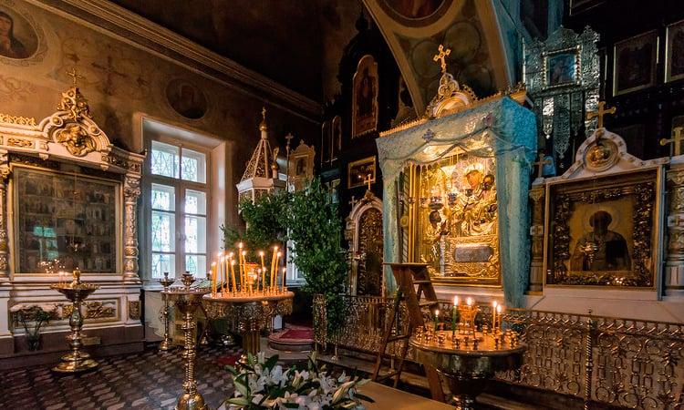 Где находится чудотворная икона «Нечаянная радость», как молиться
