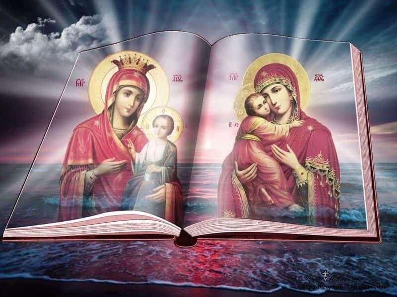 Читать онлайн благодарственные молитвы Пресвятой Богородице на каждый день недели