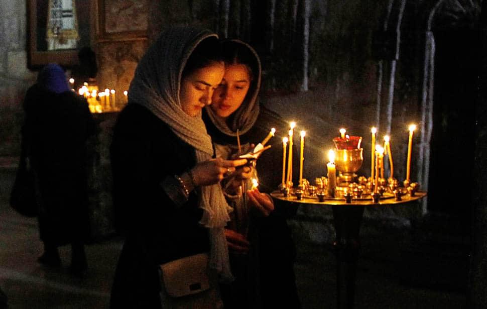 Текст молитвы первой на Рождество Пресвятой Богородицы
