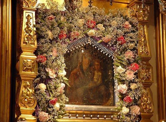 В чём помогает икона «Споручница грешных», о чем молятся