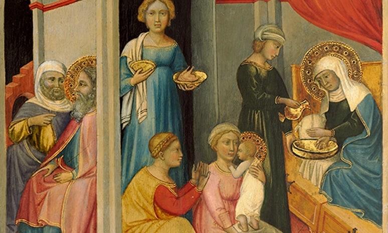 Молитва вторая на Рождество Пресвятой Богородицы с переводом