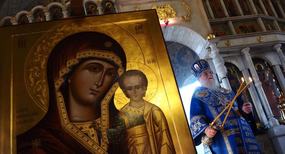 Величание Пресвятой Богородице пред иконой Ея «Казанской»
