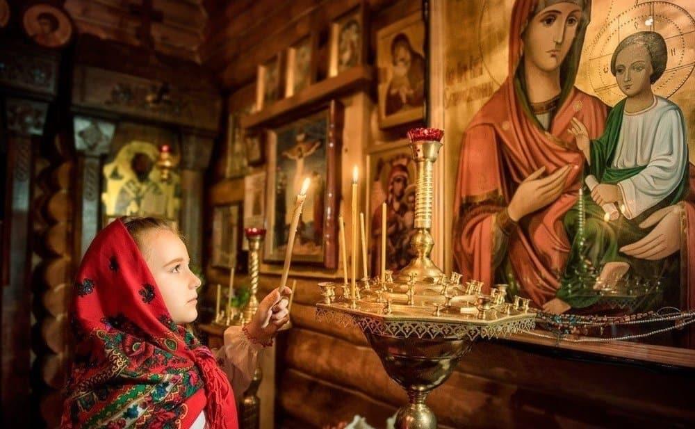 Читать онлайн благодарственную молитву Пресвятой Богородице на пятницу