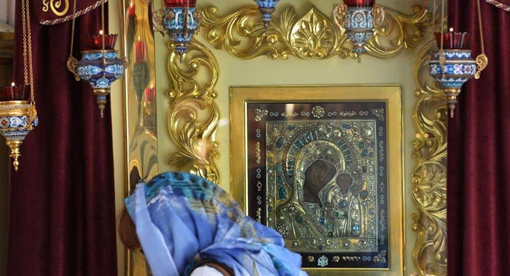 Как молиться иконе «Казанской» Божьей матери