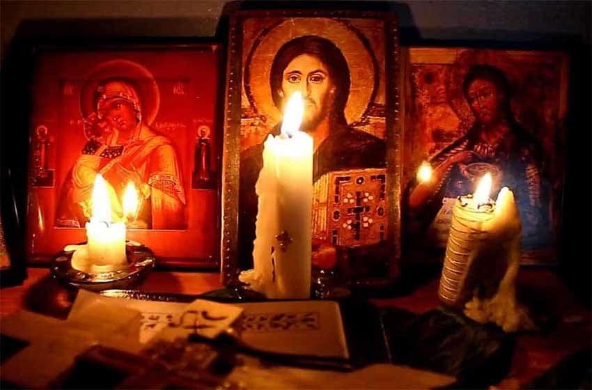 Молитва «Символ веры» на армянском языке русскими буквами