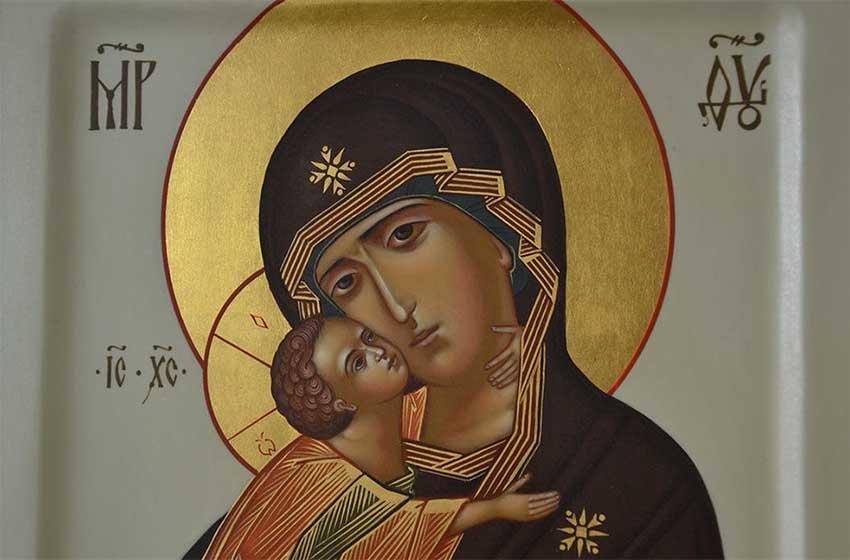 Молитвы перед иконой Пресвятой Богородицы «Владимирская» – акафист слушать, читать текст онлайн бесплатно