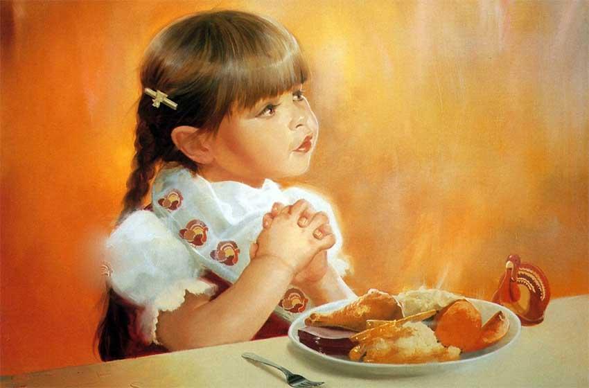 11 самых сильных молитв до и после еды, пития мирянам взрослым и детям на русском языке на разные случаи жизни