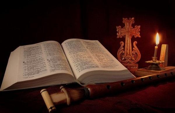 Читать онлайн молитвословия на поминальной трапезе