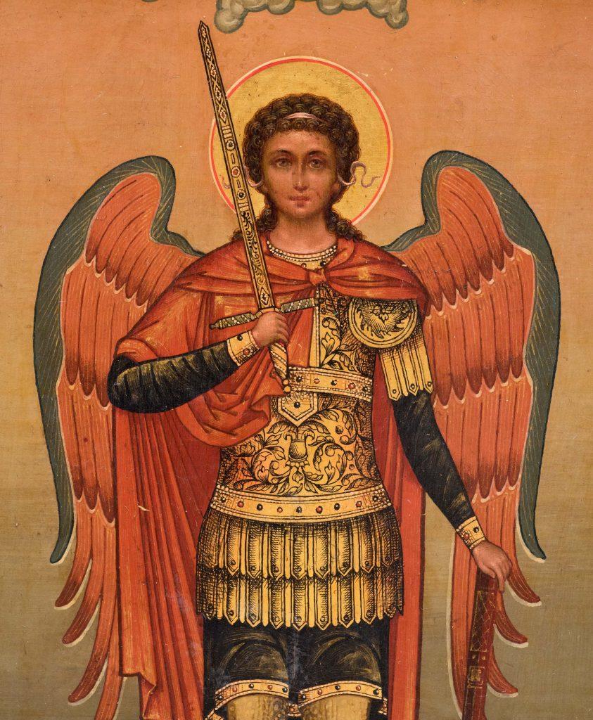 Как выглядит образ Архангела Михаила в иконописи