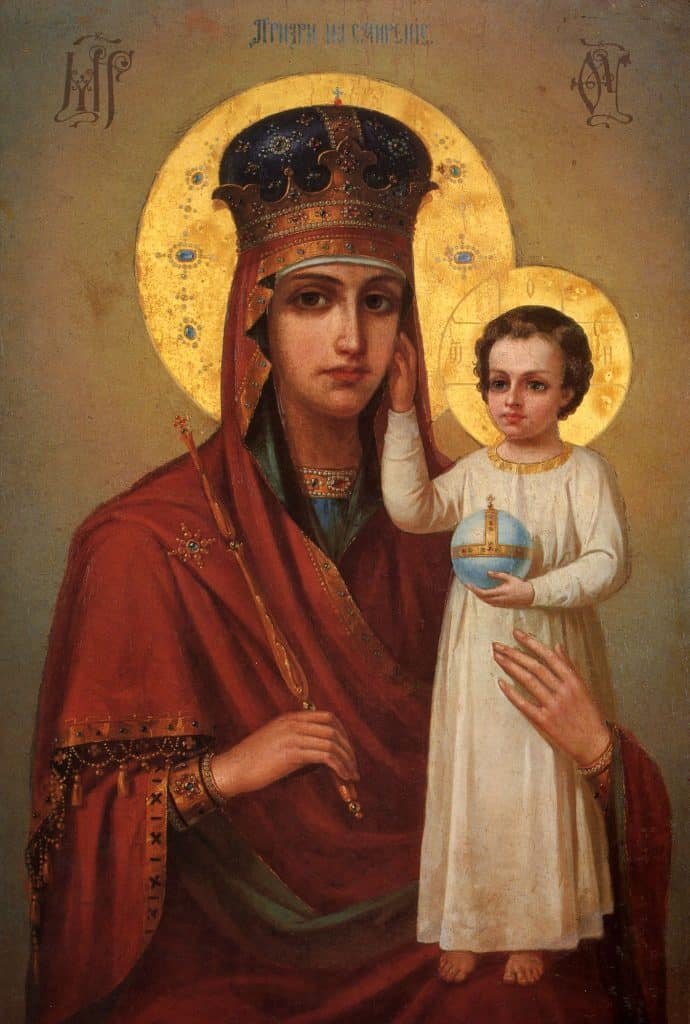 Божией Матери перед ее иконой «Призри на смирение»