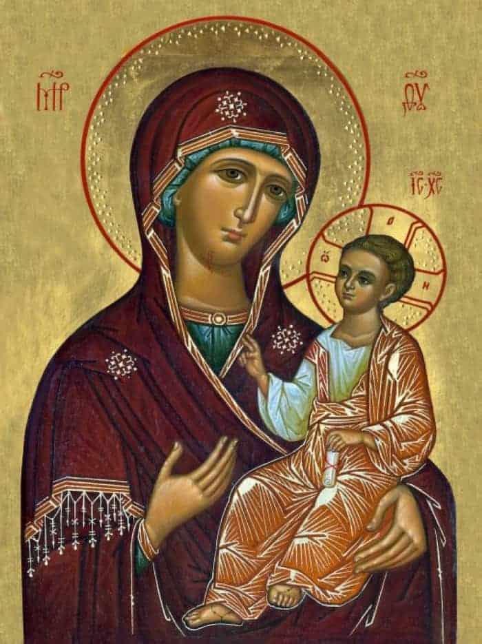 Молитва Пресвятой Богородице, чтобы сын женился