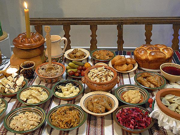 Читать онлайн молитву на благословение еды в праздник Рождества Христова