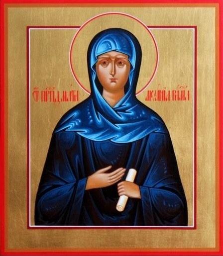 Преподобной Мелании Римляныне