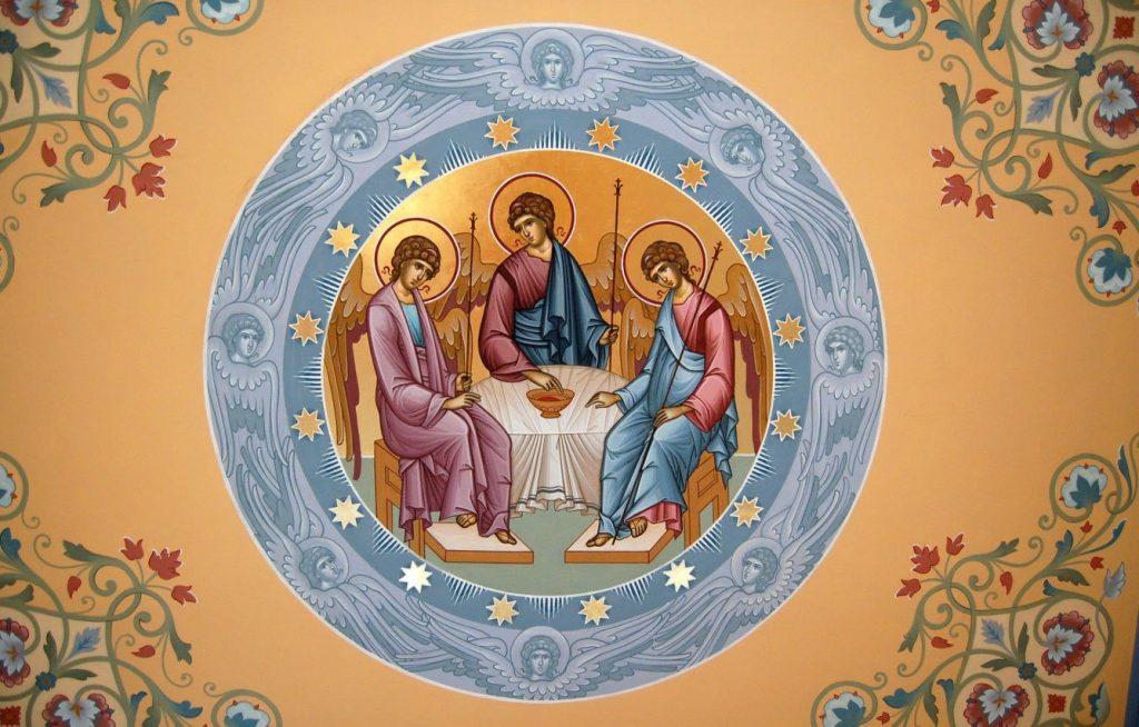 Текст молитвы на старославянском языке с ударением