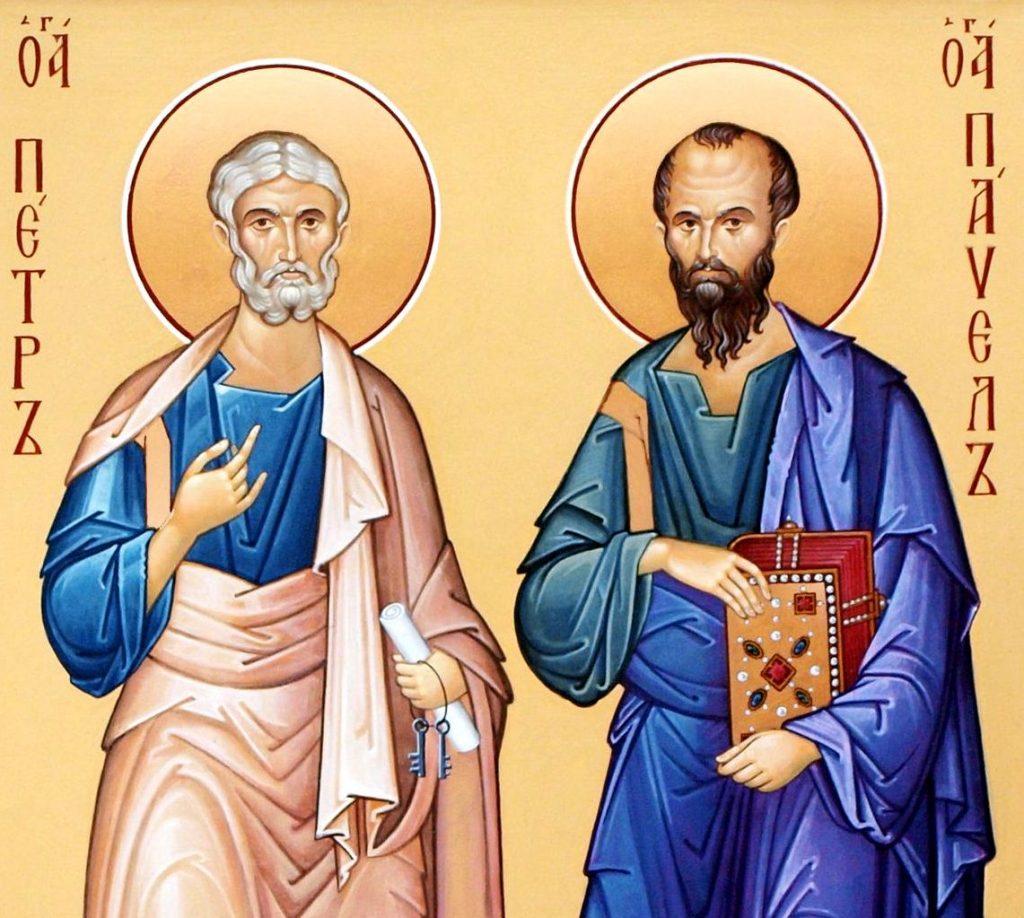 Молитва на благословение скоромных снедей в праздник первоверховных апостолов Петра и Павла