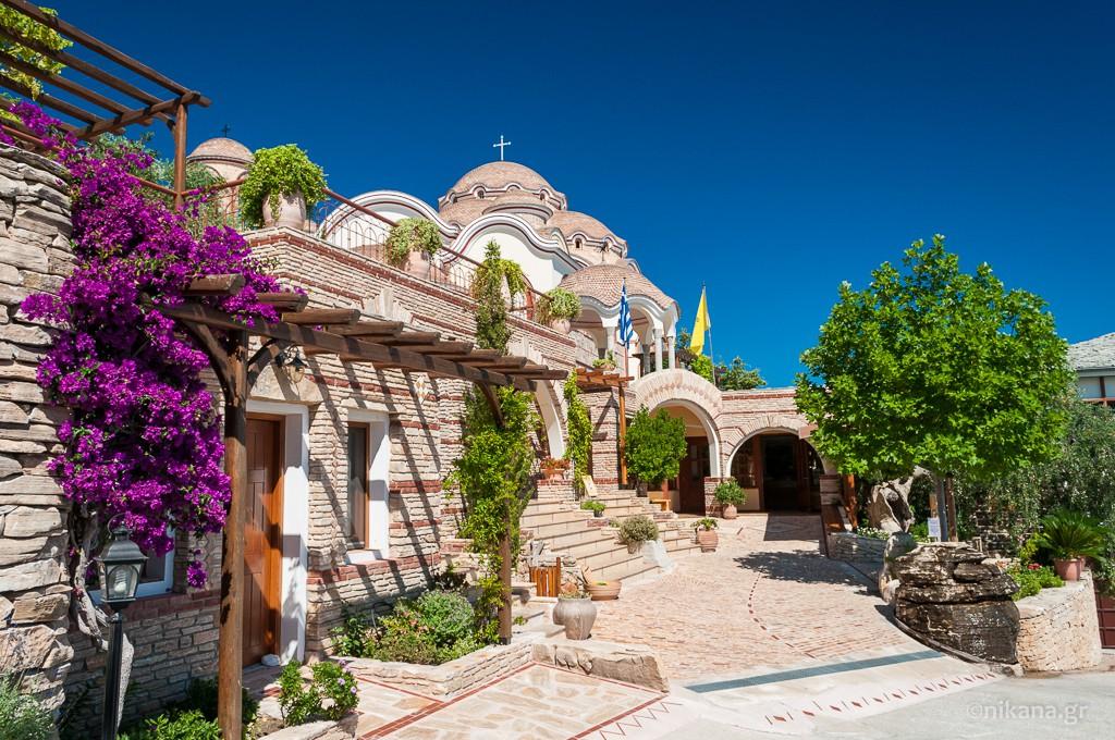 Монастырь на о. Тасос