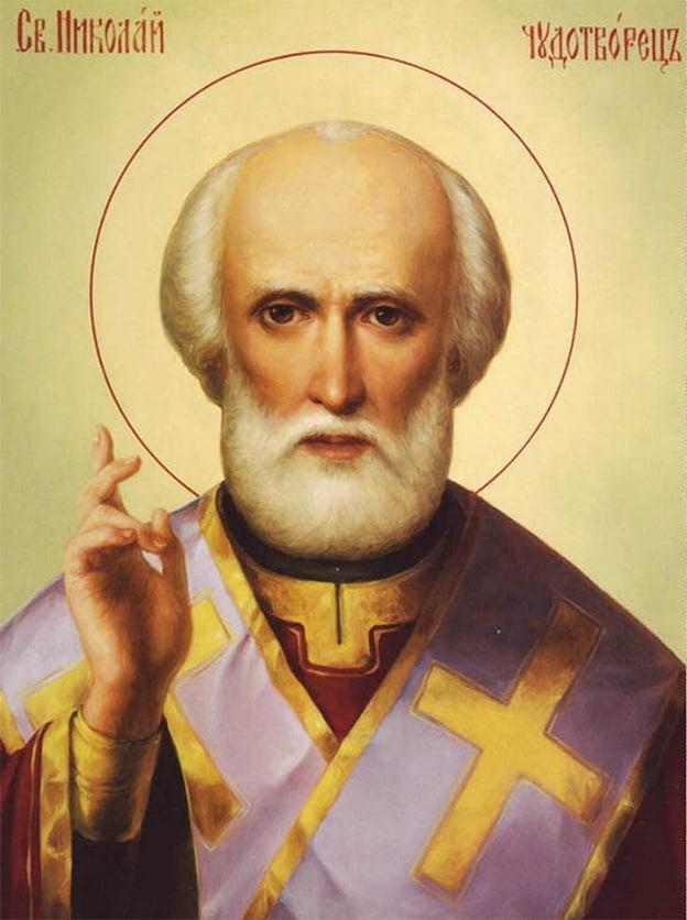 Молебен Святителю Николаю Угоднику для роженицы