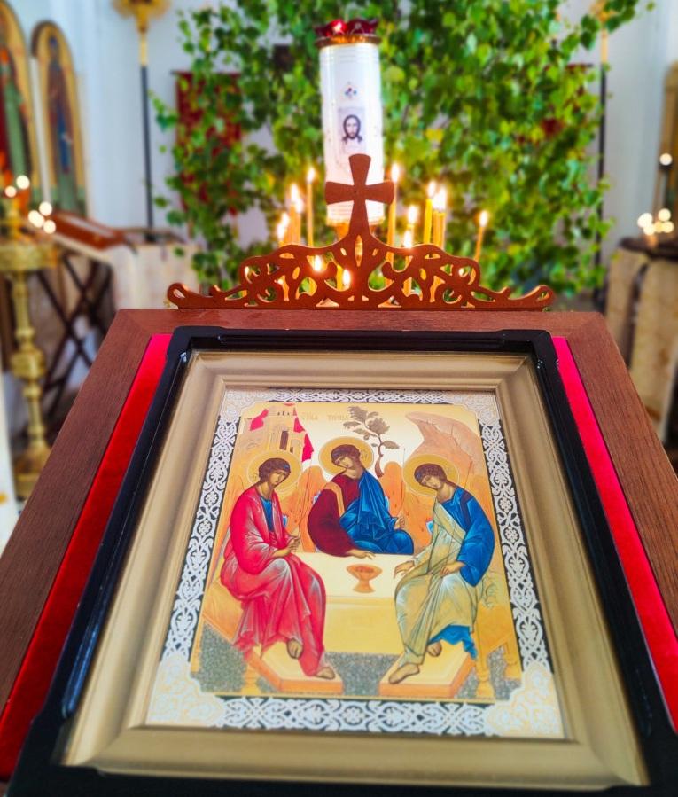 Текст молитвы на греческом языке с ударением