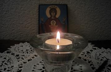 Перед работой читают краткие молитвы